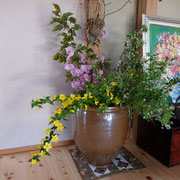 玄関(悠々花の壺)