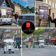 Jean d'Cancale - bâche publicitaire Tuktuk du Port (photo V. Poncept - Frencheese communication)