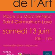 affiche Marché de l'Art / St Germain en Laye 2015