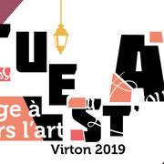 affiche Cuest'art, Virton, Belgique, 2019