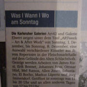 article sonntag