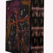 @ ERIK BONNET : Chambre noire, techniques diverses sur toile, 2010