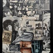 @ ERIK BONNET : Carambo-Rock n' Roll, techniques diverses sur toile, 2013