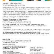flyer pop art week, Karlsruhe, Allemagne