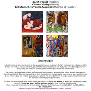 Flyer Fonds d'Ateliers, Le Cube, Briey