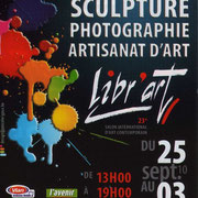 affiche FIAC Libr'Art, Libramont (B)