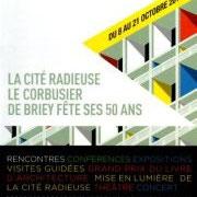 affiche cinquantenaire Le Corbusier, Briey