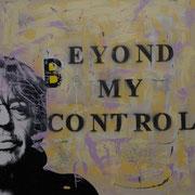 @ ERIK BONNET : Beyond my control, techniques diverses sur toile, 2010
