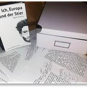 Ich, Europa und der Stier, Manuskript