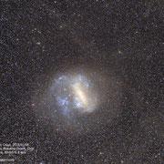 Large Magellanic Cloud. Sony A7s camera, 50mm f1.8 lens. 91X90 seconds