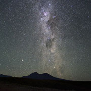 The southern Milky Way. Sony A7s camera, 28mm f2.8 lens. Single shot of 30 seconds at 12800 ISO.