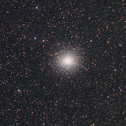Omega Centauri. Sony A7s camera, 200mm f4 lens. 3X90 seconds at 1600 ISO.