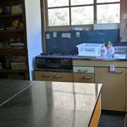 学生が使用する調理室