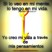 LEY DE ATRACCIÓN - SI LO VEO EN MI MENTO LO TENGO EN MI VIDA - PROSPERIDAD UNIVERSAL - www.prosperidaduniversal.org