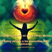 SOY UN CREADOR  DE  MILAGROS - PROSPERIDAD UNIVERSAL - www.prosperidaduniversal.org