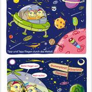 Abenteuer im Weltall 1, Comic, Diesterweg Verlag 2012