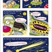 Abenteuer im Weltall 2, Comic, Diesterweg Verlag 2012