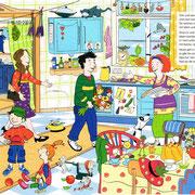 Schatzssuche im gelben Haus, Doppelseite 1, Langenscheidt Verlag 2012
