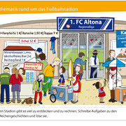 Mathematik rund um das Fußballstagion, 3. Kl., Duden Schulbuchverlag 2012