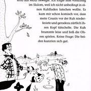 Ich, Lukas und die Geisterkuh, Kapitelillustration, Thienemann Verlag 2008