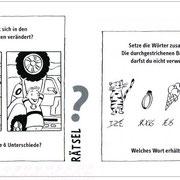 Mit Vollgas durch die Wüste, Rätsel, Thienemann Verlag