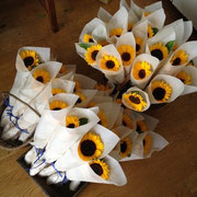 THANK YOU GIFT FLOWER  ¥324×20本~