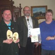 Ehrenpreise auf der MV der Gruppe Probsteierhagen