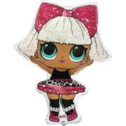Шар гелиевый кукла Лол