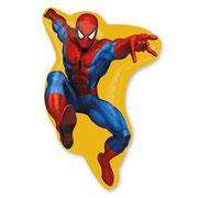 Шар человек паук фольгированный