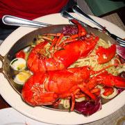 Mmmmm, Miami Beach Seafood Pasta...