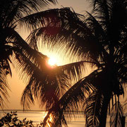 Unser Sonnenuntergang heute...