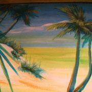 Strandbar Malereien...