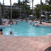 heute gönnen wir uns ein Tag Luxus am Pool...