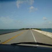Hiway Richtung Key West...