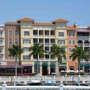 Die Ankunfit an Floridas Westküste...