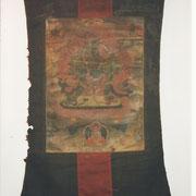 Thangka XV/XVI secolo su pelle di yak - Thangka 8XV/XVI century ) on yak skeen