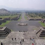 Teotihuacan, Viale dei morti