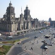 Mexico city, Catedral metropolitana