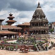 Katmandu, templi