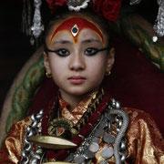 Kumari, la dea bambina