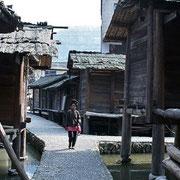 Villaggio Miao, vicoli - Miao village, narrow streets