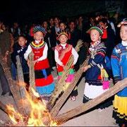 Yi festival delle torce