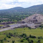Teotihuacan, Piramide della Luna