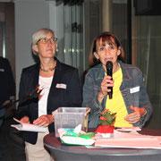 v.l. Heike Nover und Dr. Anne Rauhut, Malteser