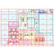 """Das PP Muster von Ula Lenz ist mein nächstes Projekt. My Home is my Castle, BOM aus dem Jahr 2013. aber in XXXL. 64"""" x 80"""", also 200 cm lang."""