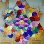 Ich habe ein neues Hexagonprojekt begonnen! September 2016.