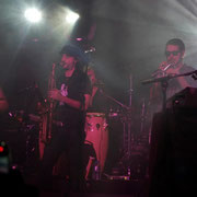 """Tuli con THG Camiseta """"Sax-Man"""" en La Riviera (Madrid 21/12/2012)"""