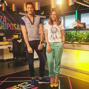 "Nuria Marín (Cazamariposas) con camiseta ""Dreamer"" (28 de junio de 2mil16)"