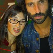 """Con Leiva y la camiseta Llueven Besos inspirada en su canción """"Mirada Perdida"""""""