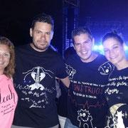 Desde Alcalá de Henares, en el concierto de Leiva, triplete de THG Camisetas